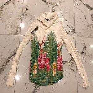 Roberto Cavalli compressed silk shirt